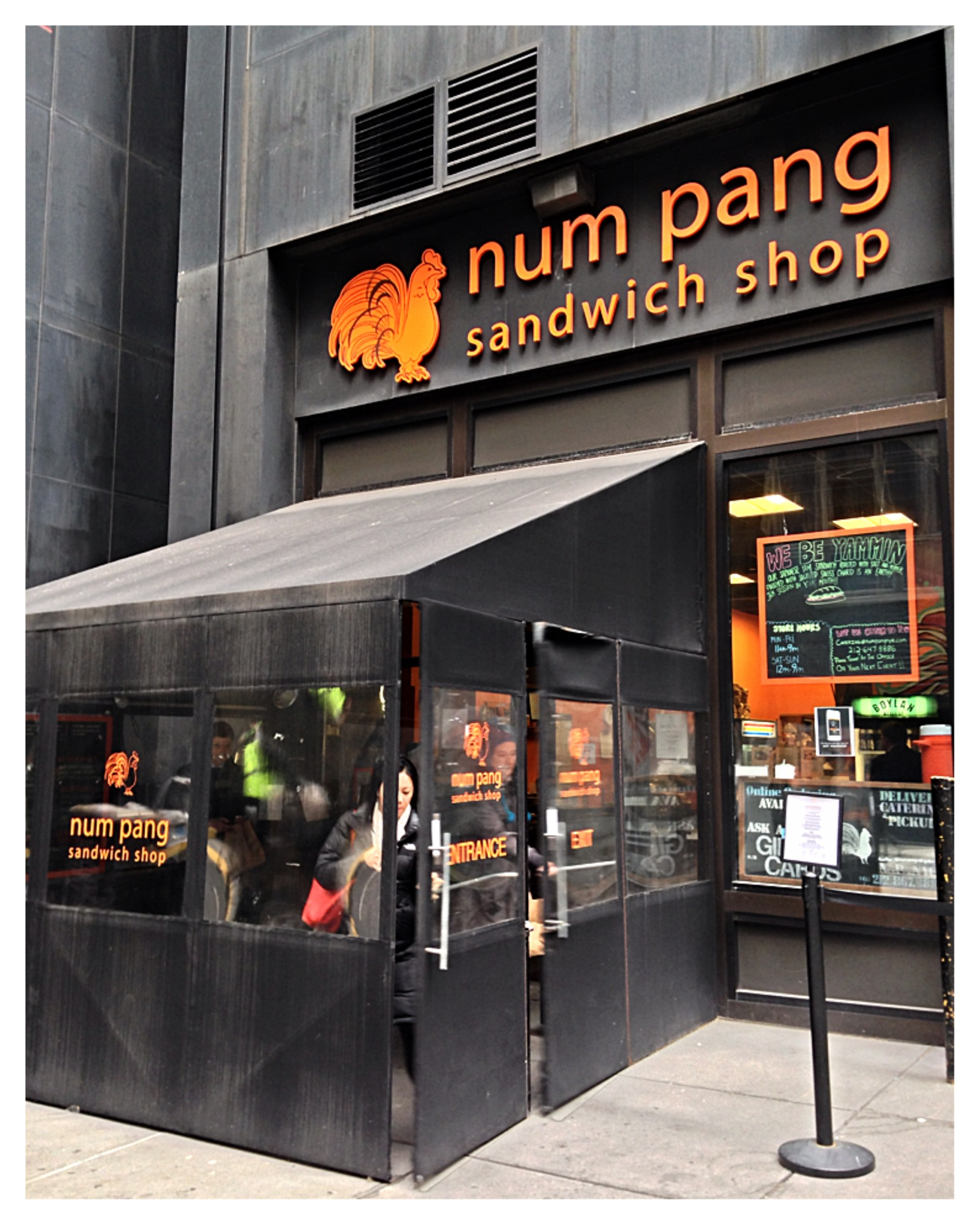 Num pang sandwich shop sprung on food - Kitchen design stores nyc ...